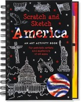 America: An Art Activity Book for Patriotic Artists and Explorers of All Ages [With Wooden Stylus]