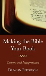 Making the Bible Your Book