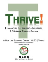 Thrive! Financial Planning Journal: A 53-Week Finance System