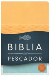 Biblia del Pescador RVR 1960, Símil Piel, Damasco  (RVR 1960 Fishers of Men Bible, Apricot Imitation Leather)