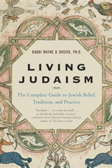 Living Judaism: The Complete Guide to Jewish Belief  Footprints, Large