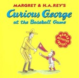 Curious George at the Baseball Game, paperback