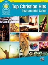 Top Christian Hits Instrumental Solos for Strings: Cello, Book & CD