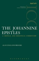 The Johannine Epistles: International Critical Commentary [ICC]