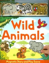 Wild Animals [With Animals Magnets]