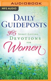 Daily Guideposts 365 Spirit-Lifting Devotions for Women, Unabridged Audiobook on MP3-CD