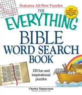 Everything Bible Word Search Book: 150 Fun and  Inspirational Puzzles