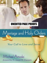 Marriage and Holy Orders: Your Call to Serve - Student Guide