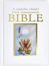 NRSV Catholic Childs 1st Communion Bible, Paper Over Board