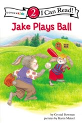 Jake Plays Ball, I Can Read! Level 2 (Reading with Help)