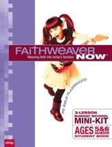 FaithWeaver NOW Mini-Kit Pre-K & K Student Books, pack of 10