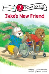 Jake's New Friend, I Can Read! Level 2 (Reading with Help)  - Slightly Imperfect