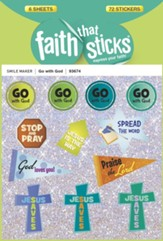 Stickers: Go With God