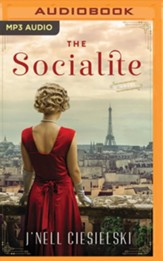 The Socialite - unabridged audiobook on MP3-CD