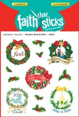 Stick-n-Sniff Wreaths