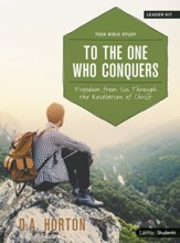 To the One Who Conquers, Teen Bible Study DVD Leader Kit: Freedom from Sin Through the Revelation of Christ