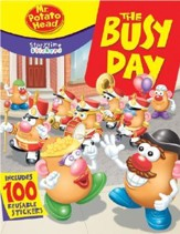 Mr. Potato Head: The Busy Day [With 100 Reusable Stickers]