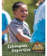 Roar: Manual del Líder Estampida Deportiva (Stampede Sports Leader Manual, Spanish Edition)