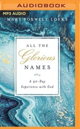 All the Glorious Names - unabridged audiobook on MP3-CD