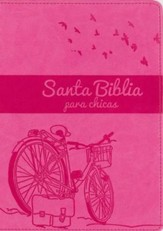 NVI Biblia Chica Latina, Italian Duo-Tone, Orchid/Hot Pink - Slightly Imperfect