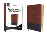 LBLA Santa Biblia Ultrafina, leathersoft cafe (Thinline Holy Bible, Leathersoft Brown)