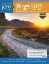 2019-2020 NIV Standard Lesson Commentary, Deluxe Edition - Slightly Imperfect