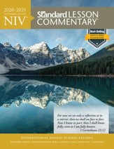 2020-2021 NIV Standard Lesson Commentary, Softcover