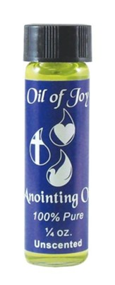 Unscented Anointing Oil
