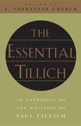 The Essential Tillich, Edition 2