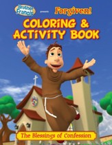 Brother Francis: Forgiven, Coloring Activity Book
