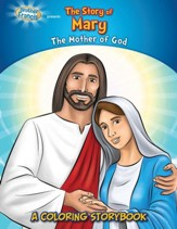 The Story of Mary, A Coloring Storybook