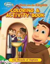Brother Francis: Born into the Kingdom, Coloring Activity Book