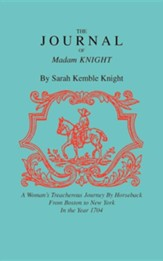 The Journal of Madam Knight