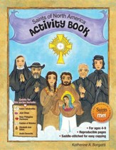 Saints of North America Activity Book