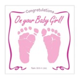 Congratulations on Your Baby Girl! Musical CD Greeting Card