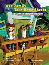 Deep Blue: Family Take-Home Sheets, Fall 2017 - Summer 2018