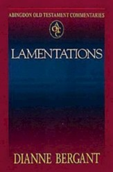 Abingdon Old Testament Commentary: Lamentations   - Slightly Imperfect