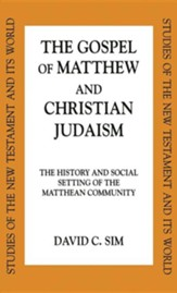 Gospel Of Matthew and Christian Judaism
