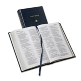NRSV Popular Text Anglicized Bible, Hardcover, blue - Slightly Imperfect