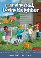 Deep Blue Connects: Loving God, Loving Neighbor Adventure DVD, Fall 2019
