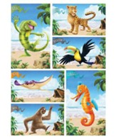Shipwrecked: Giant Bible Memory Buddy Posters (set of 6)