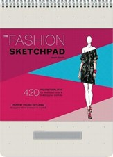 The Fashion Sketchpad: 420 Figure Templates for Designing Looks & Building Your Portfolio