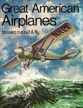 Great American Airplanes-Coloring Book