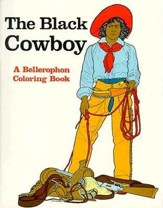 The Black Cowboy-Coloring Book