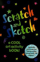 Scratch and Sketch: A Cool Art Activity Book! [With Scratch-Off Stick]
