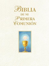 My First Communion Bible: Spanish Edition (White)