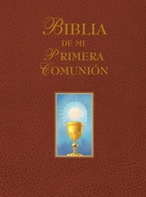 My First Communion Bible: Spanish Edition (Burgundy)