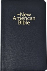 NABRE Deluxe Gift Bible, Bonded Leather, Black Indexed