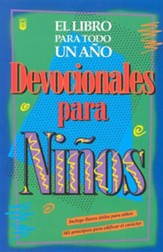 Devocionales de niños para todo un año, One Year Book Of Devotions For Kids