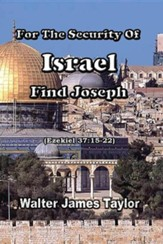 For the Security of Israel Find Joseph, Edition 0002Revised